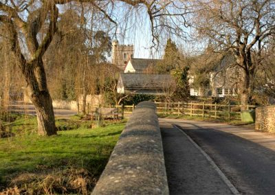 Road into Dalwood - A Devon Village