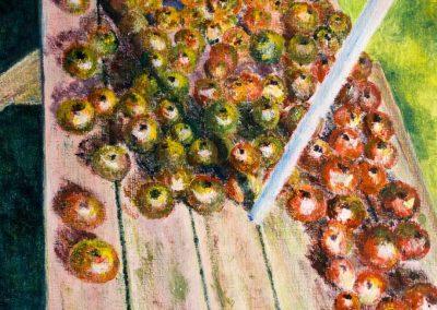 'Autumn Harvest' - Original Painting on Card. 30 x 40cm