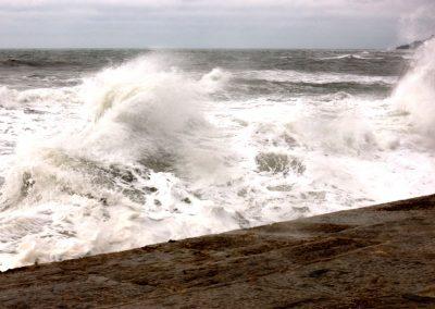 Boiling Sea - The Cobb Lyme-Regis