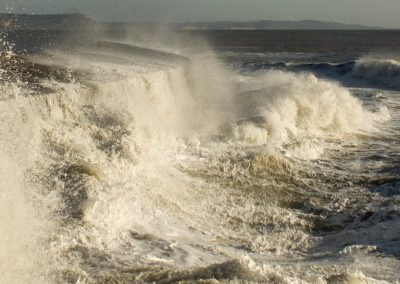 Boiling Seas - Lyme Regis