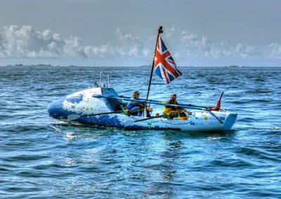 Flying the Flag - Transatlantic World Record Row