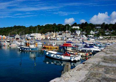Lyme Regis Cobb Harbour - Dorset Moods