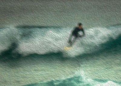 Surfer 1 - Photo Art - St Ives