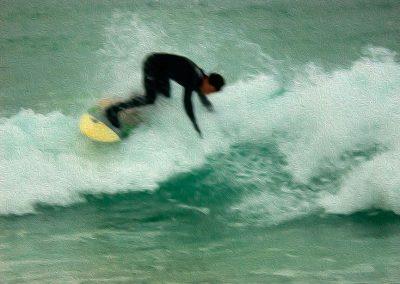 Surfer 2 - Photo Art - St Ives