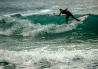 Surfer 3 - Photo Art - St Ives