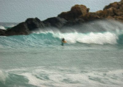 Surfer 4 - Photo Art - St Ives