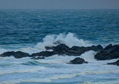 Storm Wave - Photo Art - St Ives