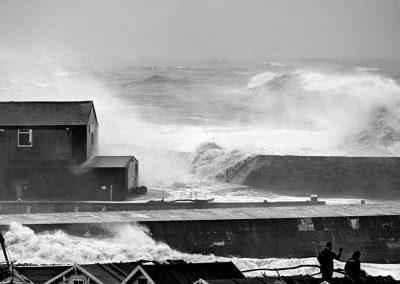 Massive Winter Storm The Cobb Lyme Regis