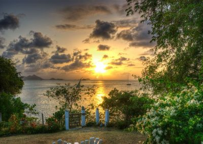 Sunset from Bogels Roundhouse (1) - Carriacou