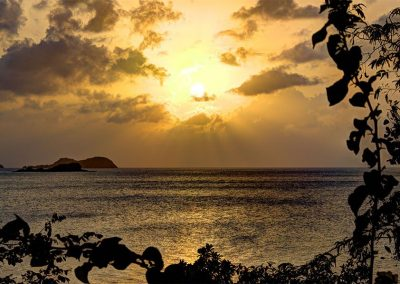 Sunset from Bogels Roundhouse (2) - Carriacou
