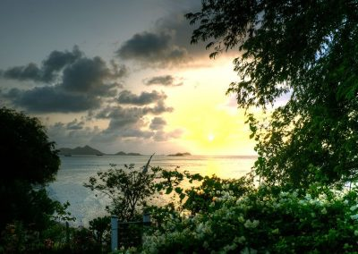 Sunset from Bogels Roundhouse (3) - Carriacou