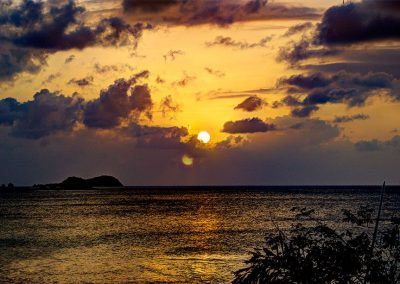 Sunset from Bogles Roundhouse (4) - Carriacou