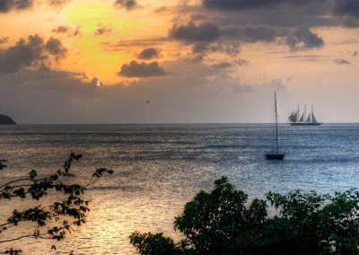 Sails at Sunset - Carriacou