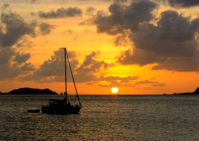 Sunset from Hilllsborough - Carriacou