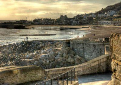 Front beach - Lyme Regis - Dorset Moods