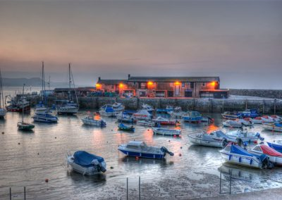 Lyme Regis Harbour at Dawn - Dorset Moods