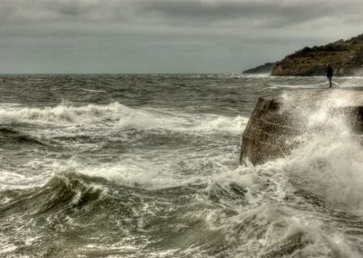 Risky Outlook - The Cobb Lyme Regis