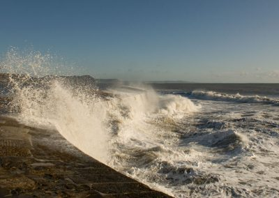 Rough Seas - Lyme Regis