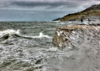 Storm Waves - The Cobb Lyme Regis