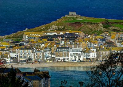Harbour, Town and Chapel - St Ives