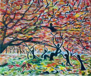 Woodland Dance - Autumn.
