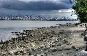 Vancouver from Spanish Banks.