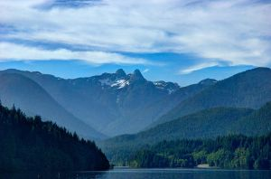 View from Capilano Lake.