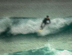 Surfer 1 - Photo Art.