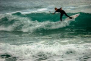 Surfer 3 - Photo Art.