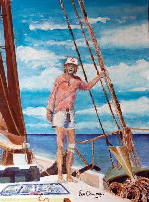 Capt. John Smith aboard Mermaid