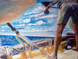 Barracuda Fishing.