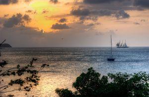 Sails at Sunset.